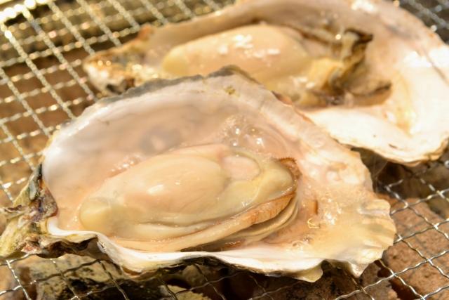 牡蠣のバーベキュー