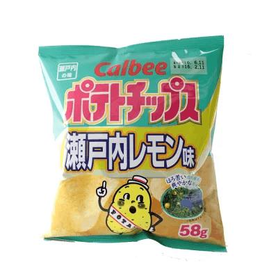 瀬戸内レモンポテトチップス